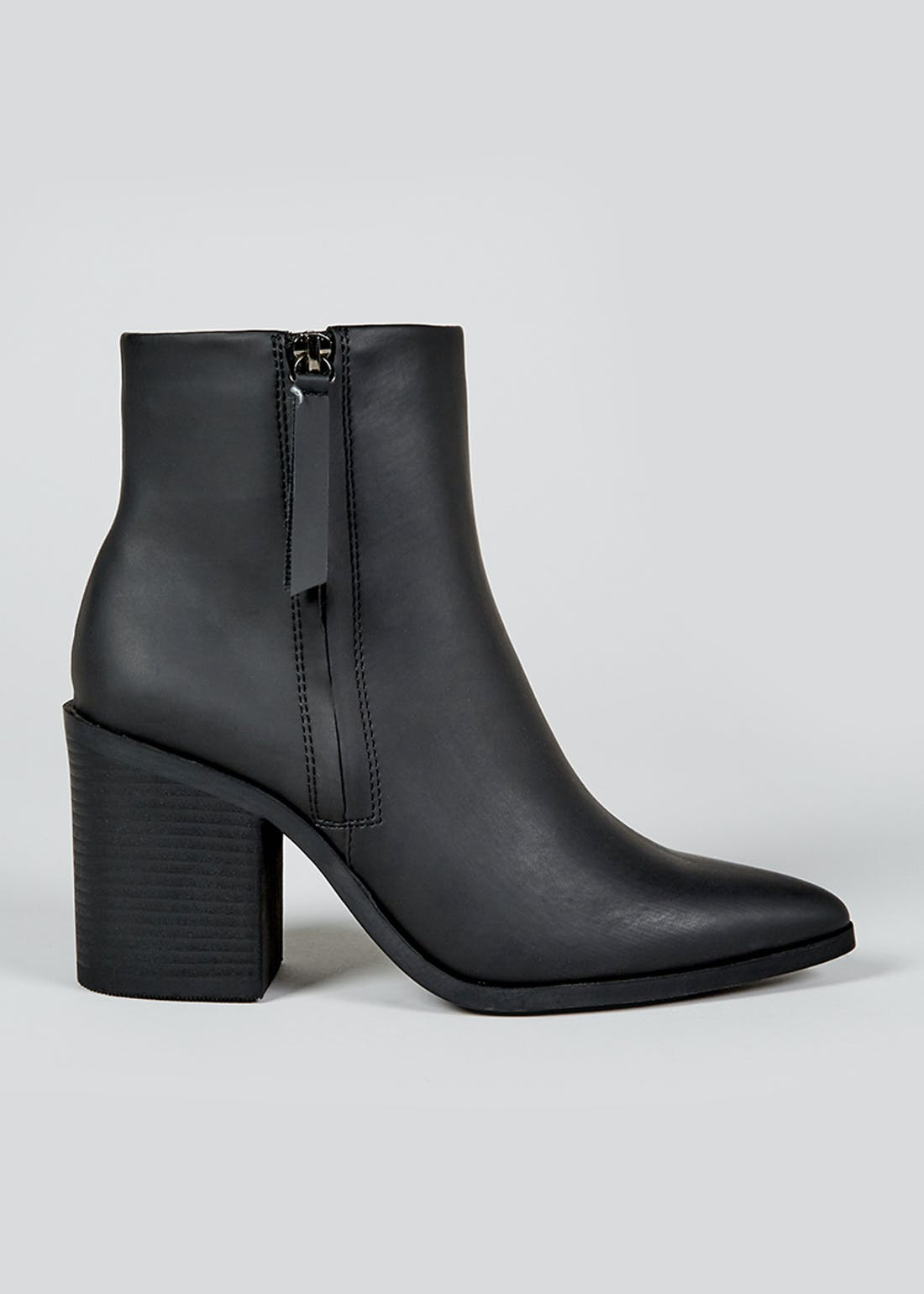 Black Block Heel Boots
