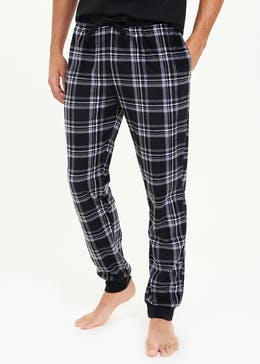 Fleece Check Pyjama Bottoms