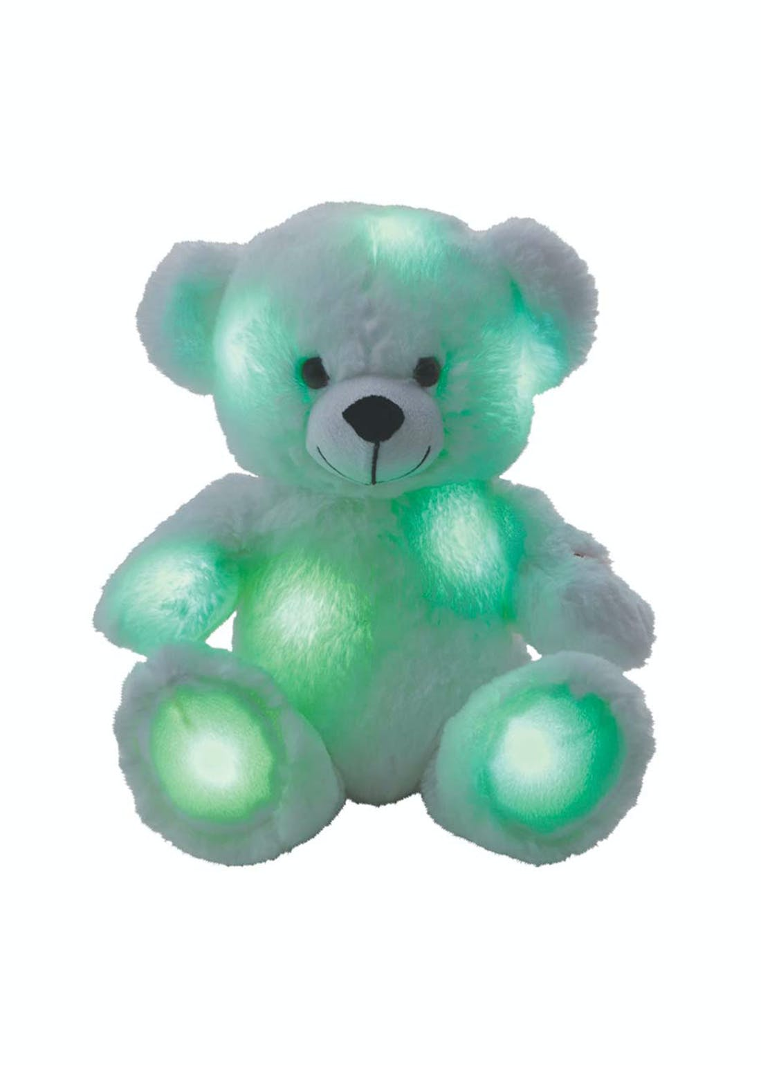 Snuggle Buddies Brilliant Light-Up Bear (30cm x 18cm x 18cm)