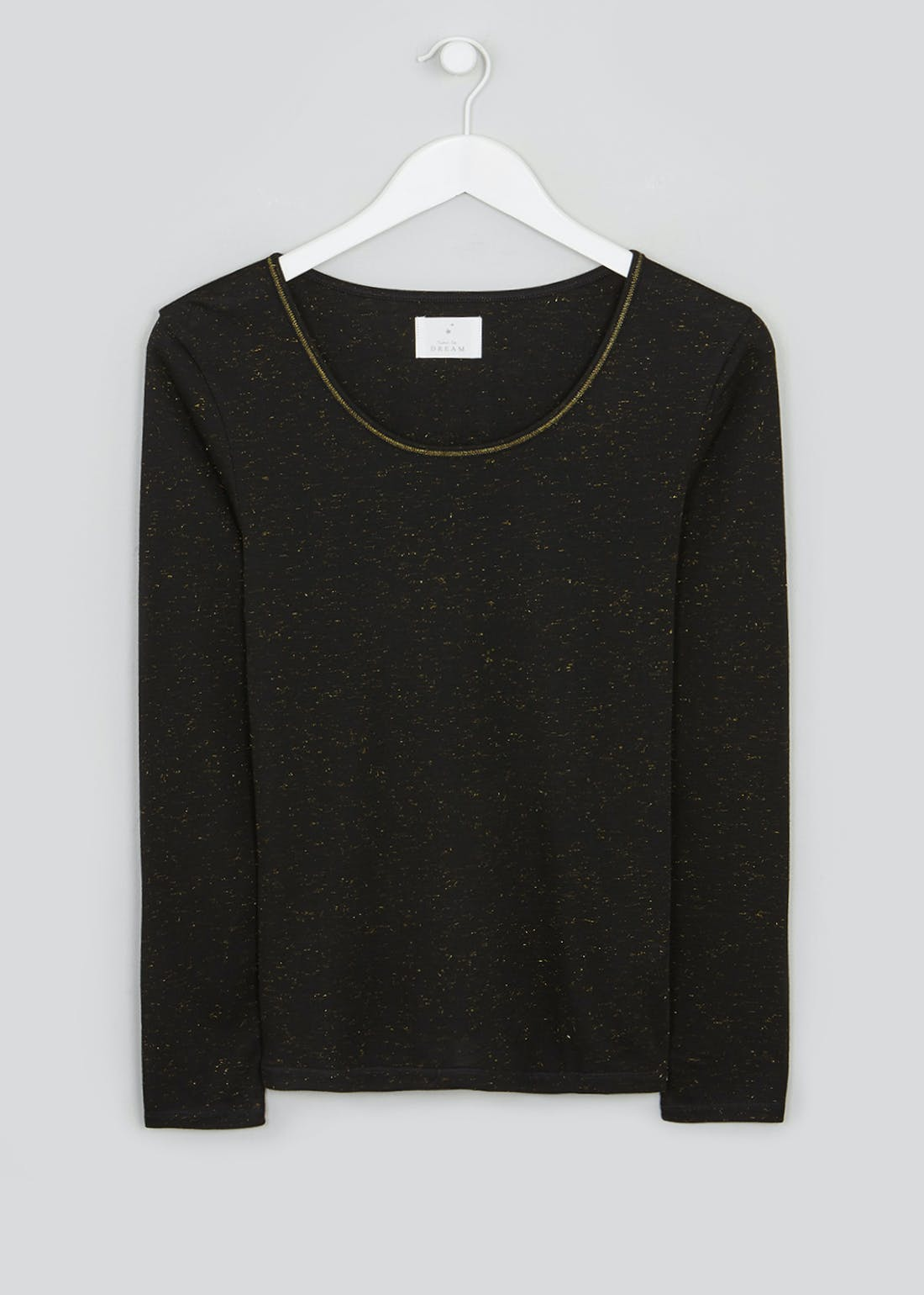 Sparkle Long Sleeve Thermal Top