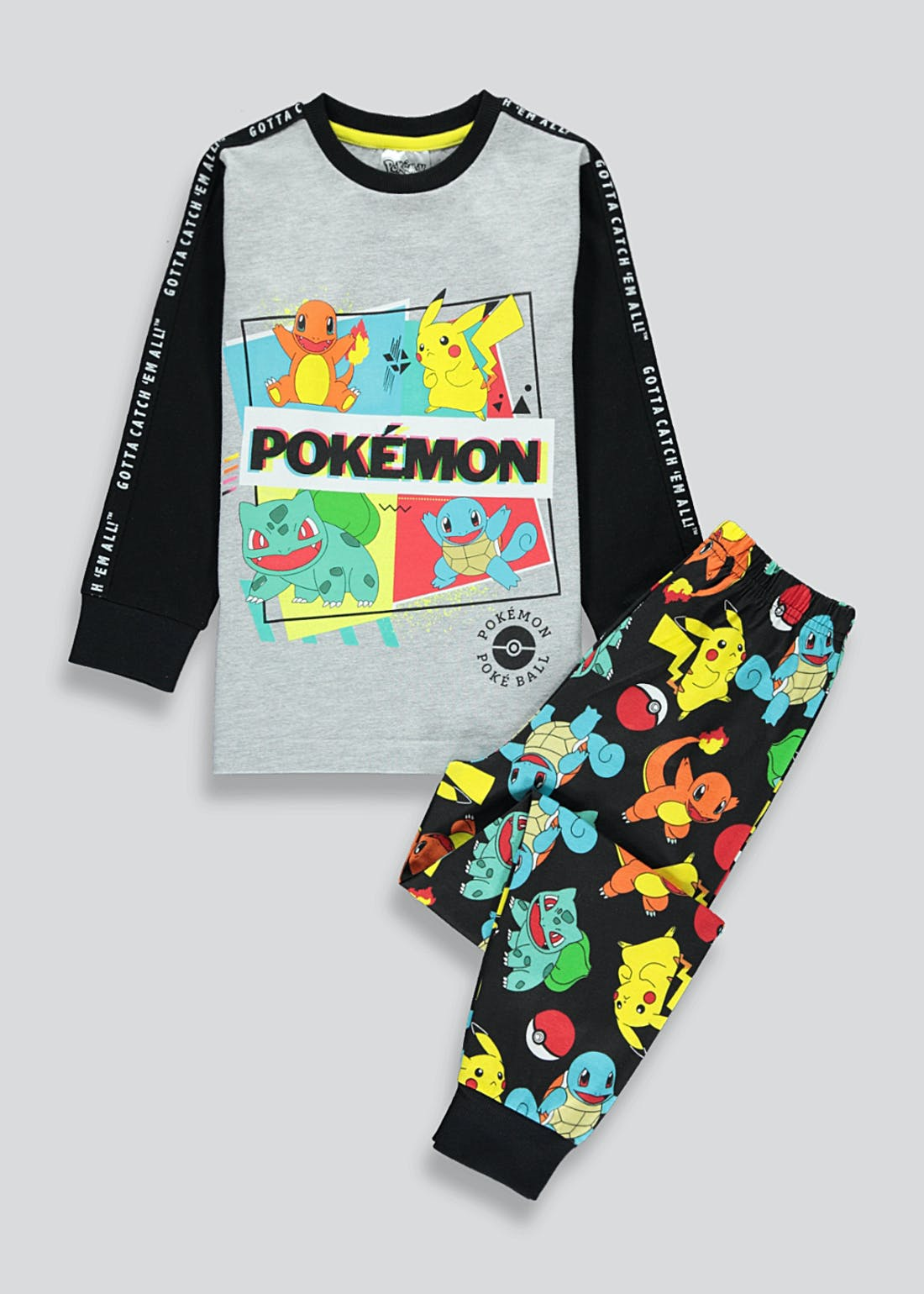 Kids Pokemon Pyjama Set (5-12yrs)