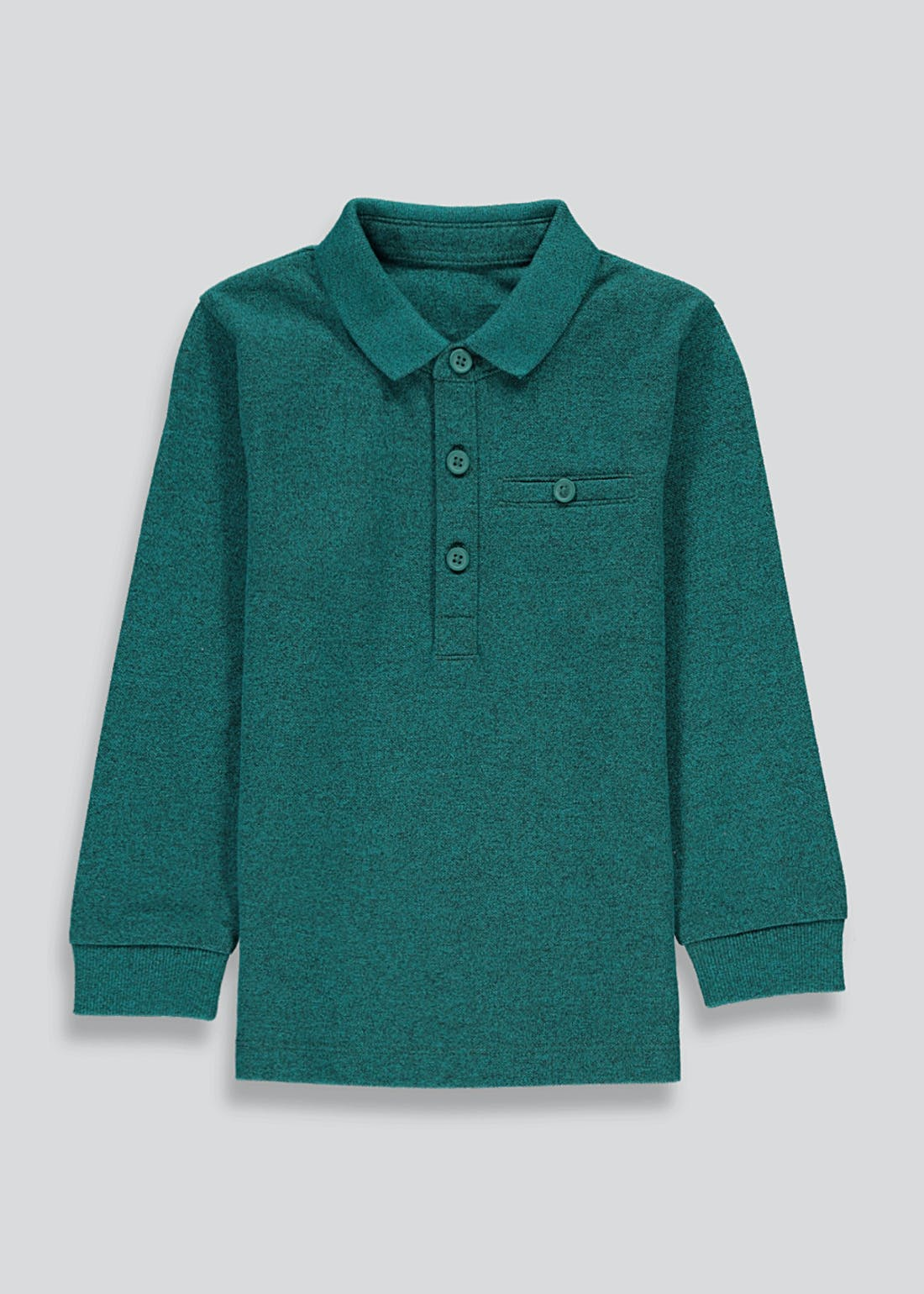 Boys Long Sleeve Polo Shirt (9mths-6yrs)