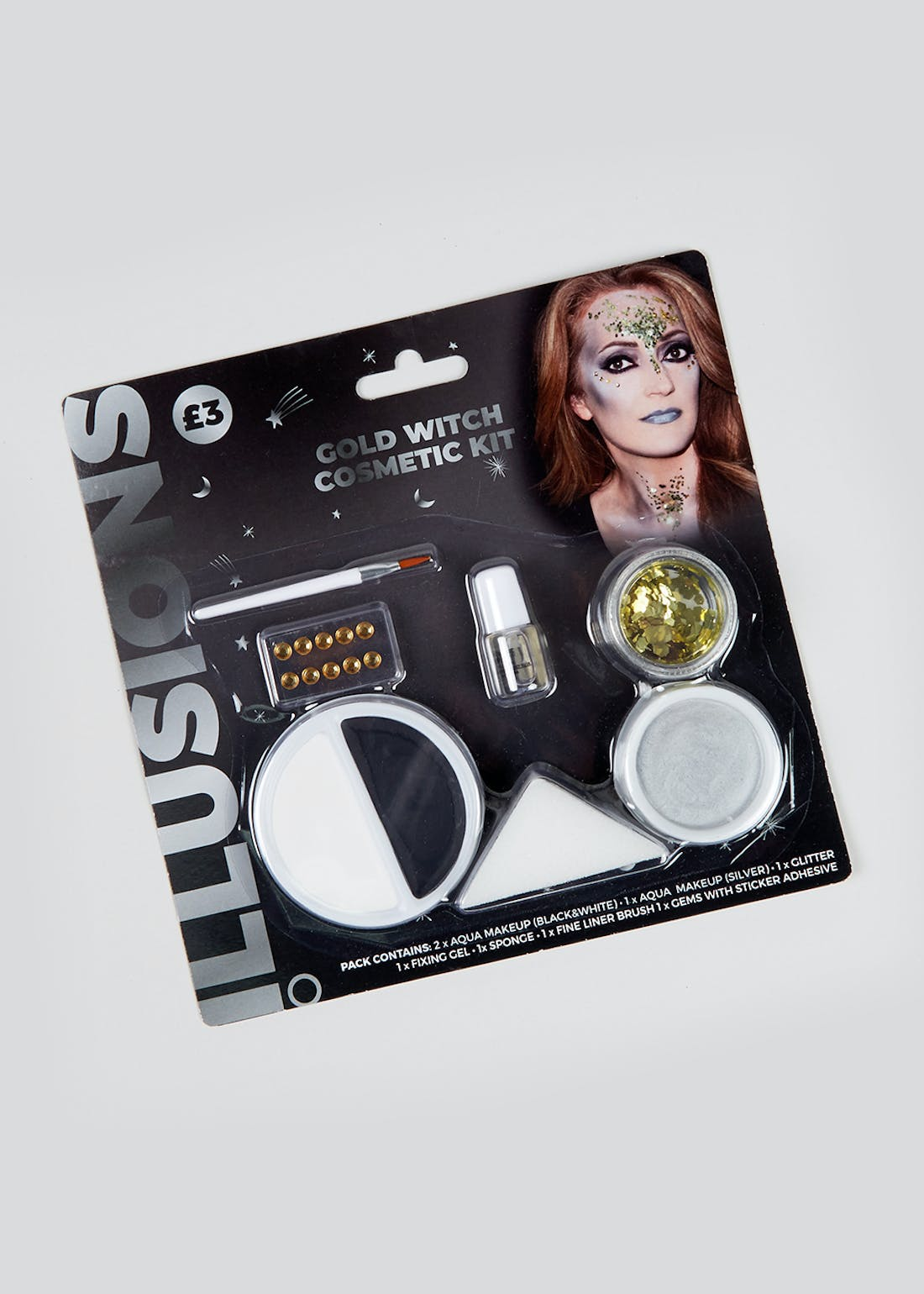 Halloween Witch Face Paint Kit
