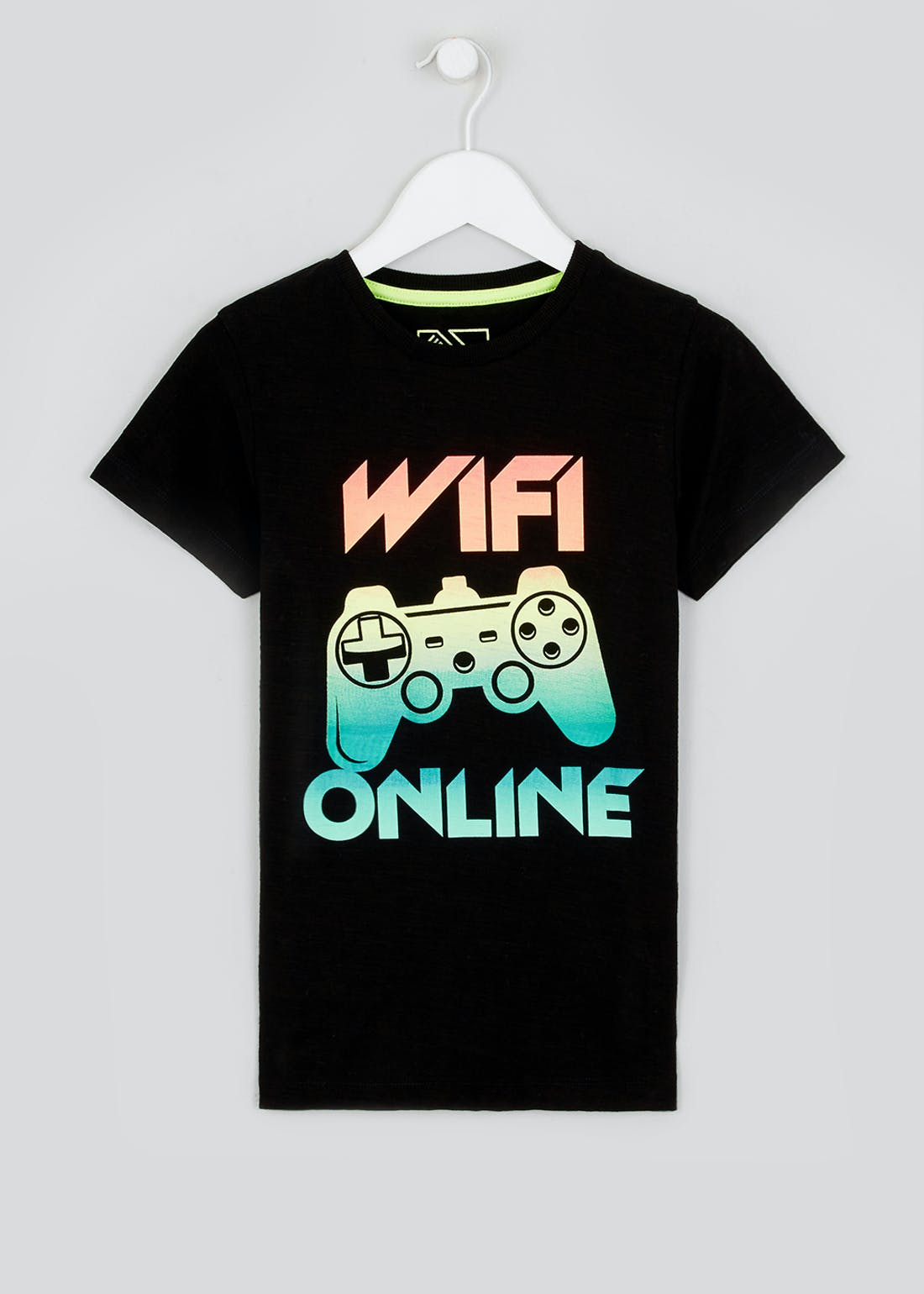 Boys WiFi Print T-Shirt (4-13yrs)