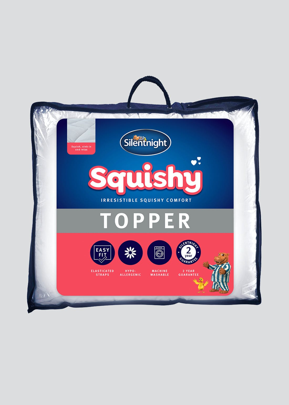 Silentnight Squishy Mattress Topper