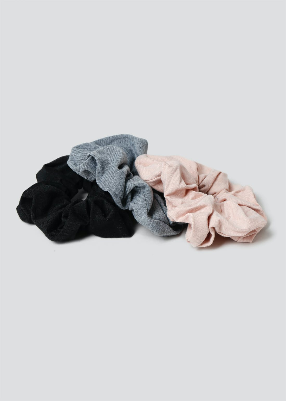 3 Pack Jersey Scrunchies