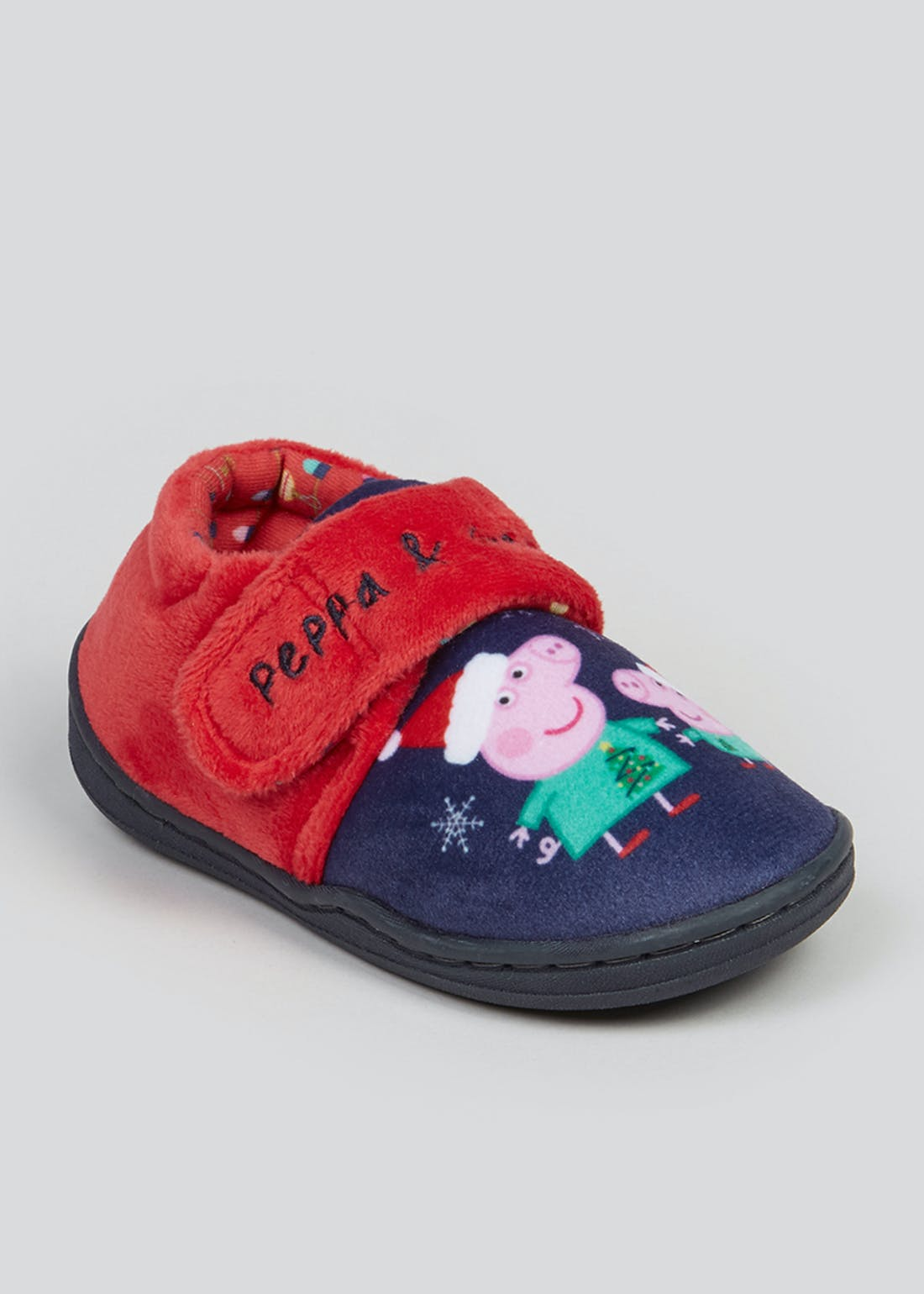 Kids Peppa Pig Christmas Slippers (Younger 4-12)