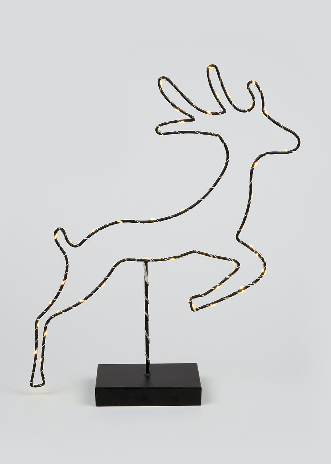 LED Wire Stag Ornament (45cm x 38cm x 11cm)
