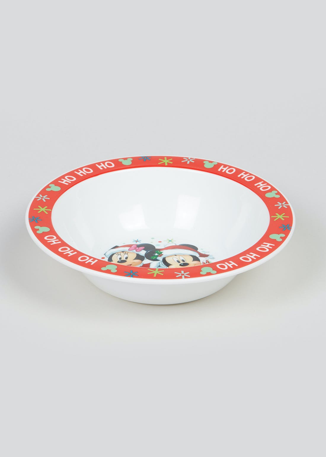 Kids Mickey & Minnie Christmas Bowl (16cm x 5cm)