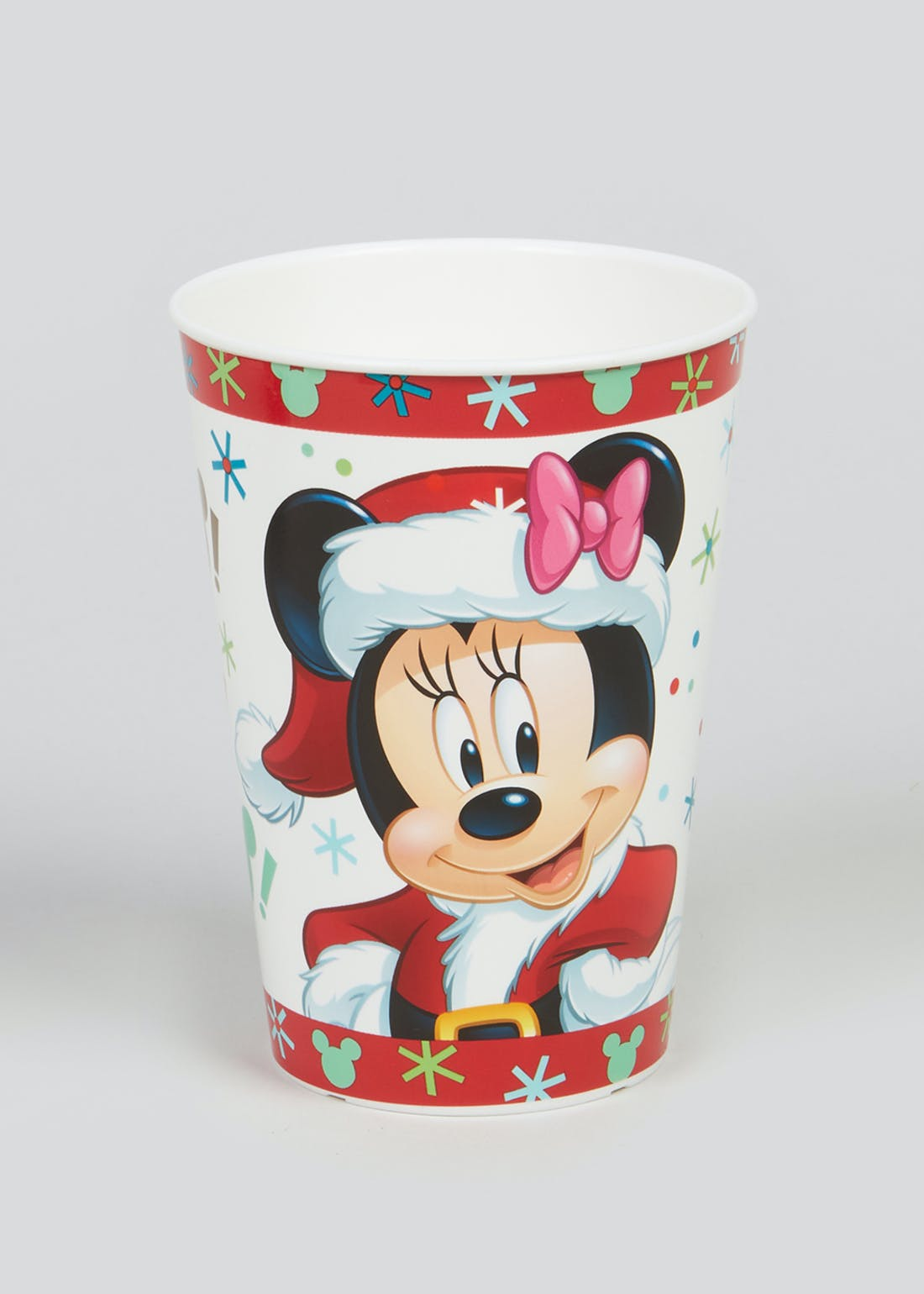 Kids Mickey & Minnie Christmas Tumbler (12cm x 9cm)