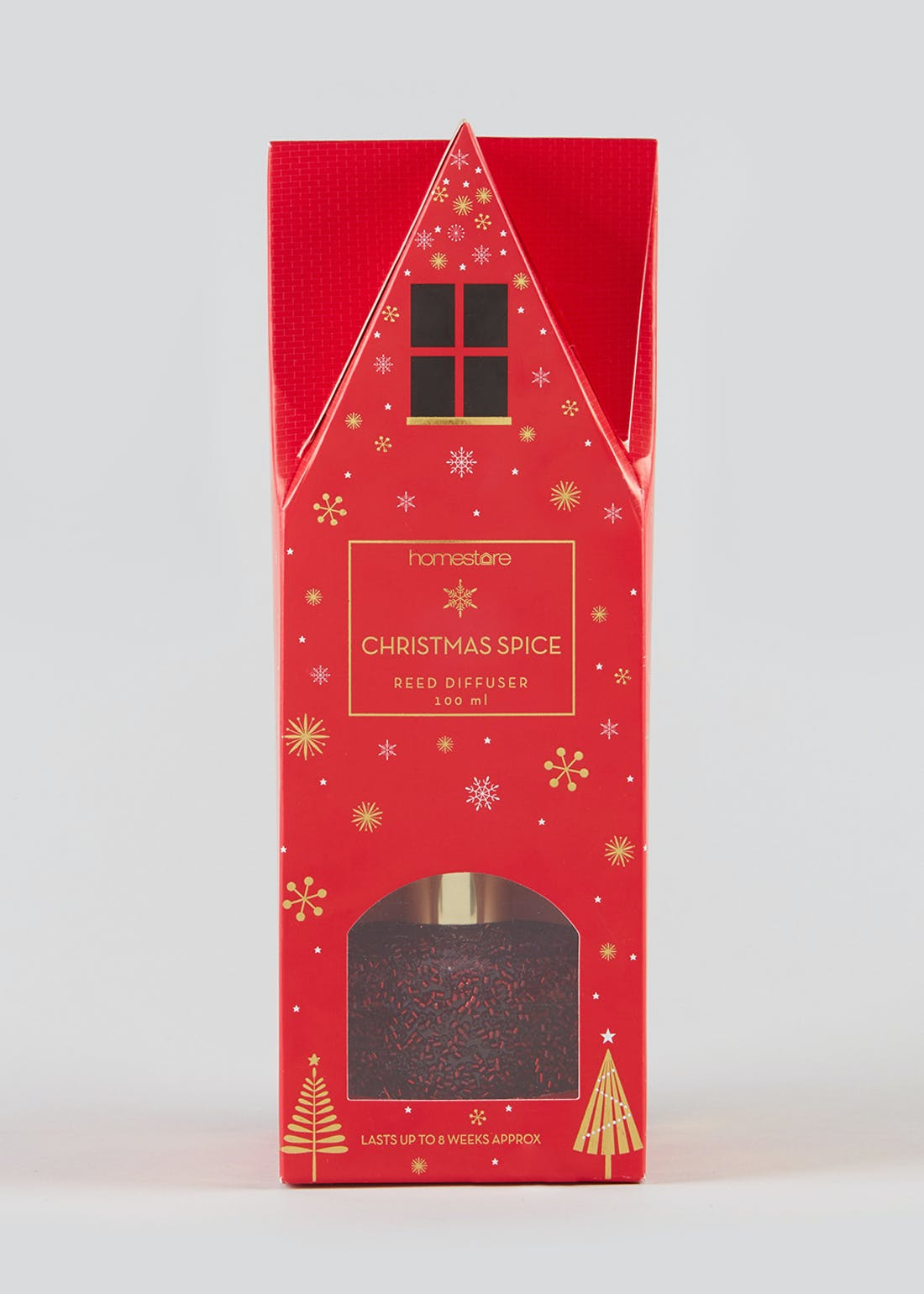 Christmas Spice Beaded Reed Diffuser (100ml)