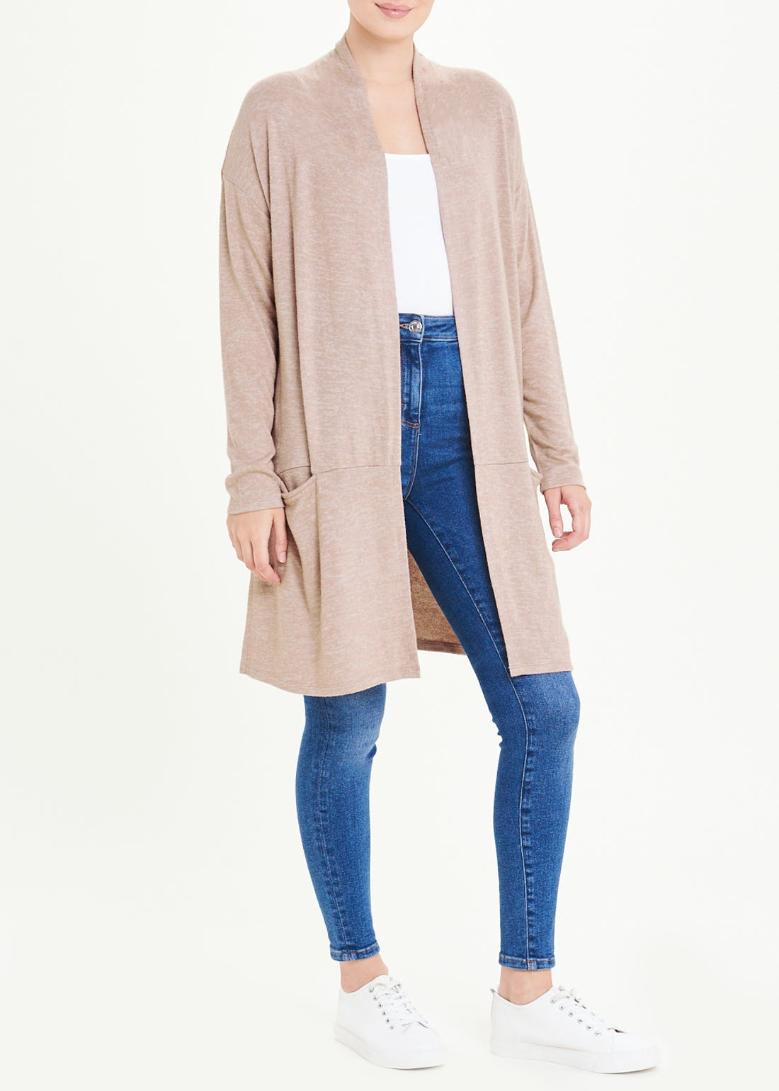 Longline Soft Touch Cardigan