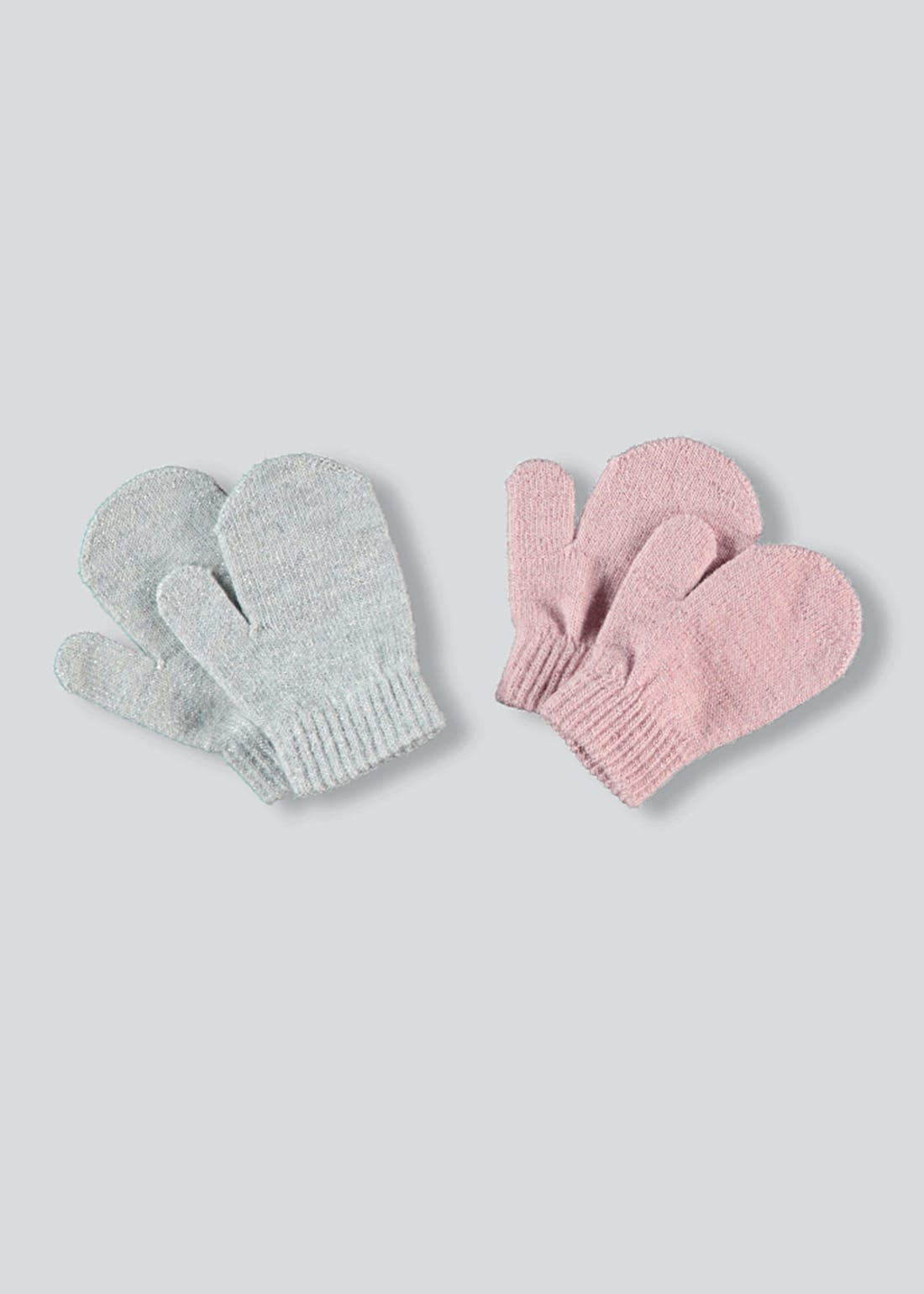 Girls 2 Pack Magic Mittens (One Size)