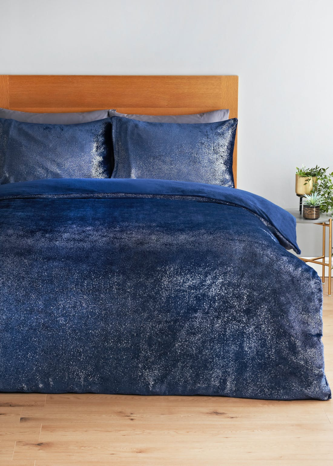 Sparkle Teddy Fleece Duvet Cover