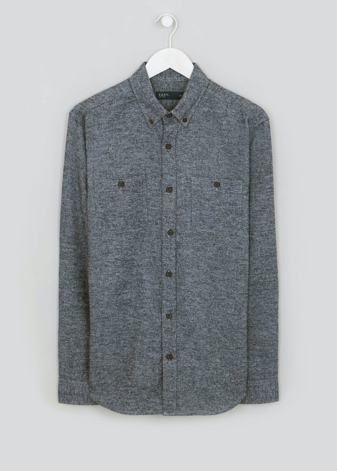 Long Sleeve Grindle Cotton Shirt