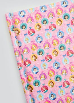 Disney Princess Christmas Wrapping Paper (4m)
