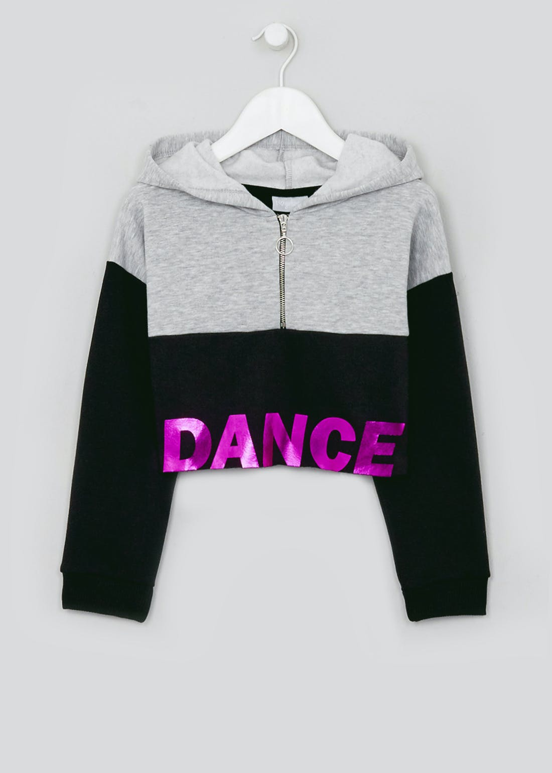 Girls Dance Slogan Hoodie (4-13yrs)
