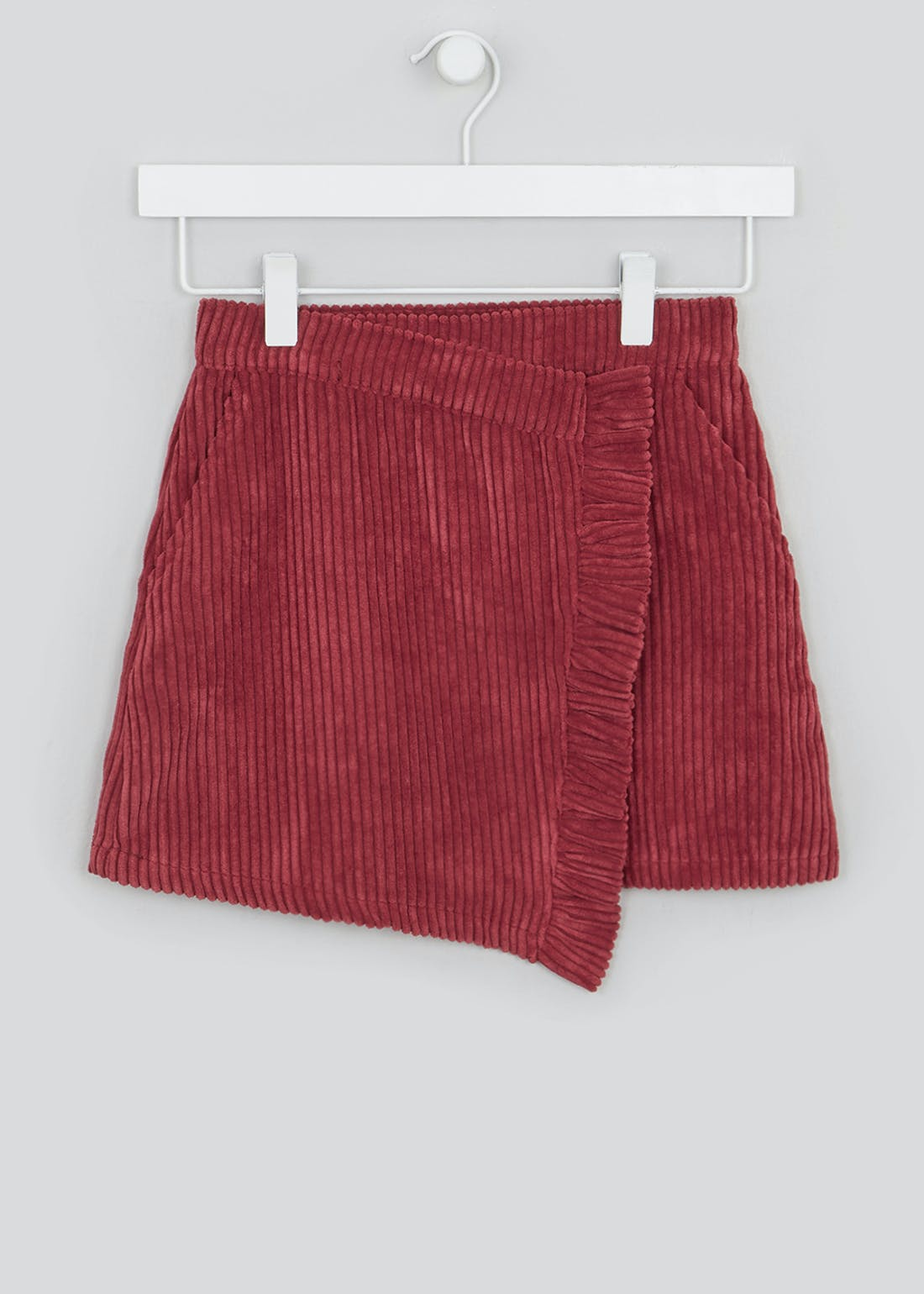 Girls Frill Cord Skirt (4-13yrs)
