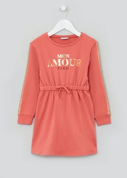 Girls Long Sleeve Amour Sweater Dress (4-13yrs)