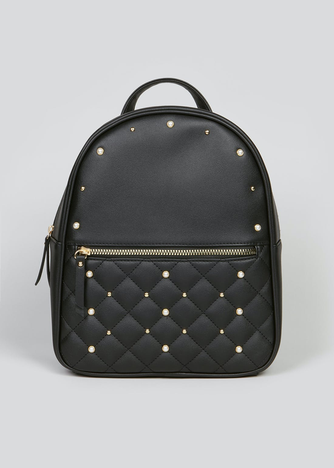 Quilted Pearl Backpack