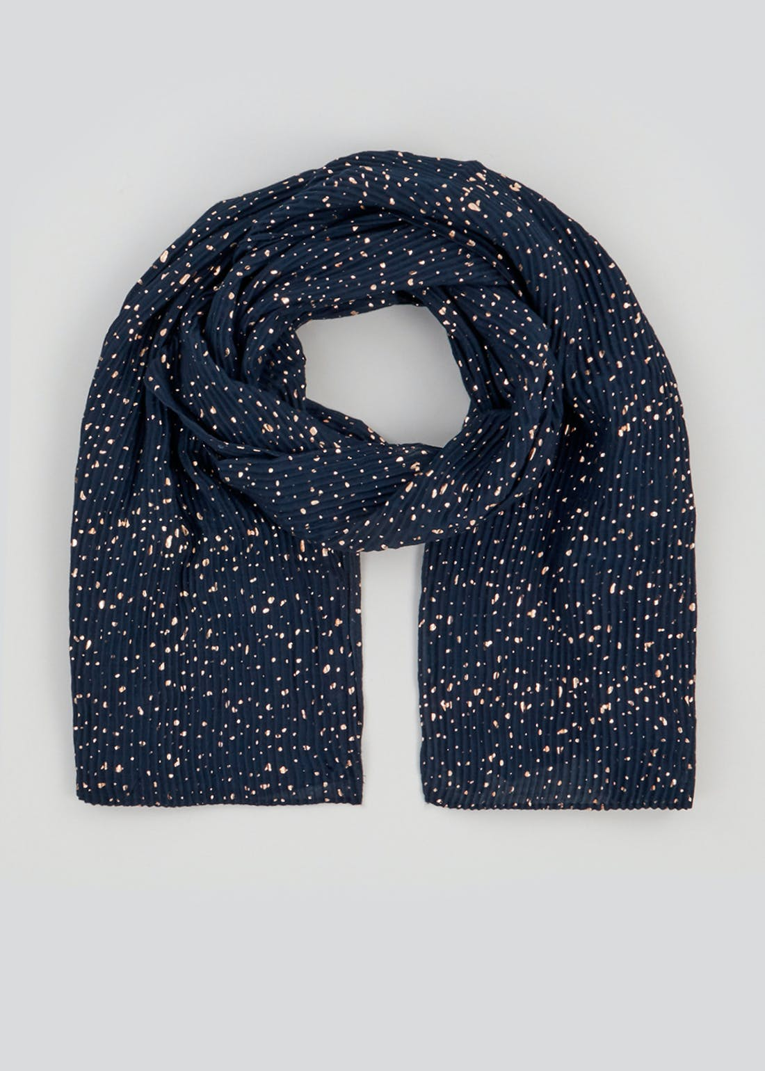 Gold Crinkle Scarf