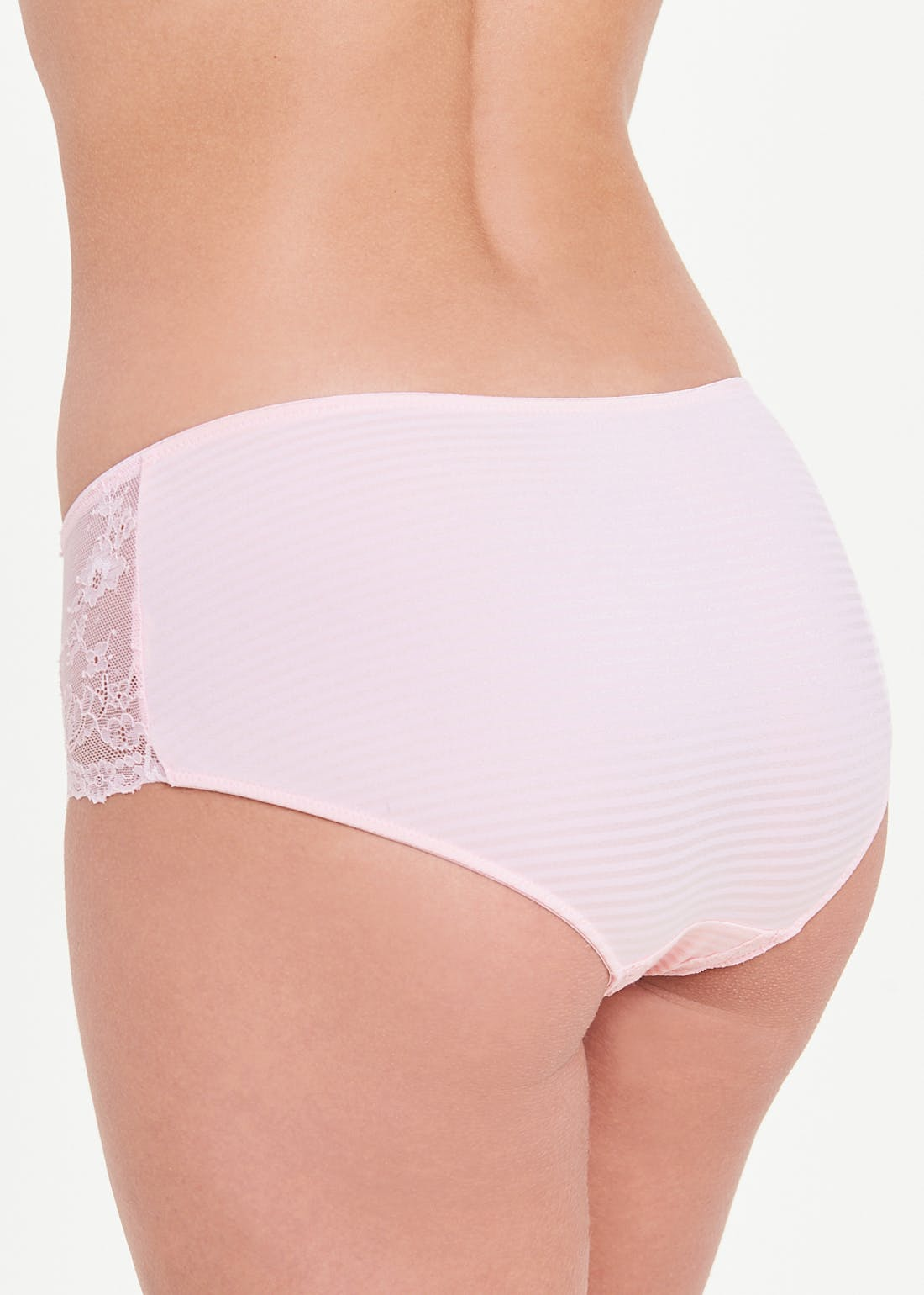 Stripe Lace Knickers