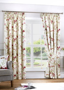 Fusion Jeannie Pencil Pleat Curtains