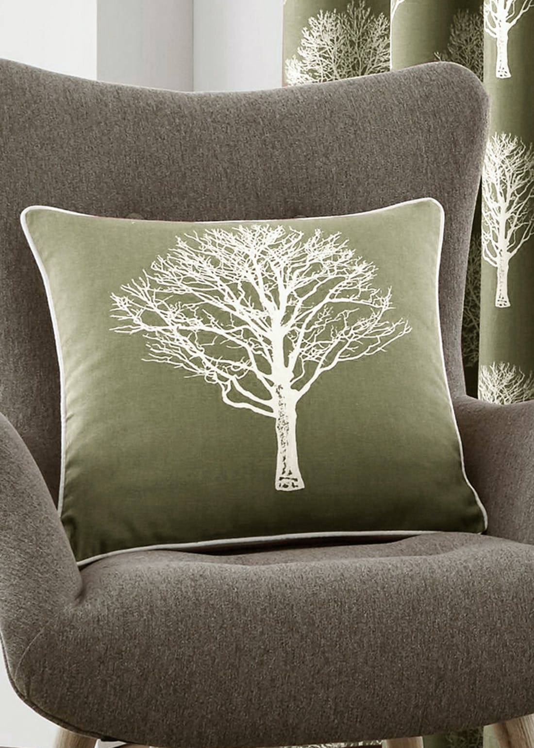 Fusion Woodland Tree Cushion (43cm x 43cm)