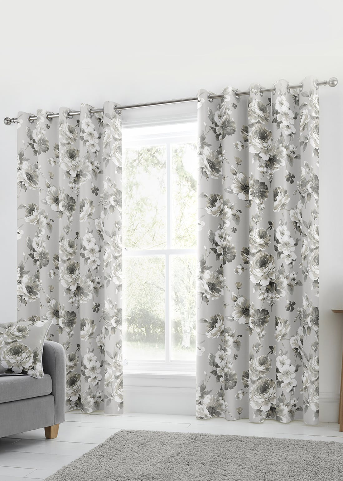 Fusion Charity Eyelet Curtains