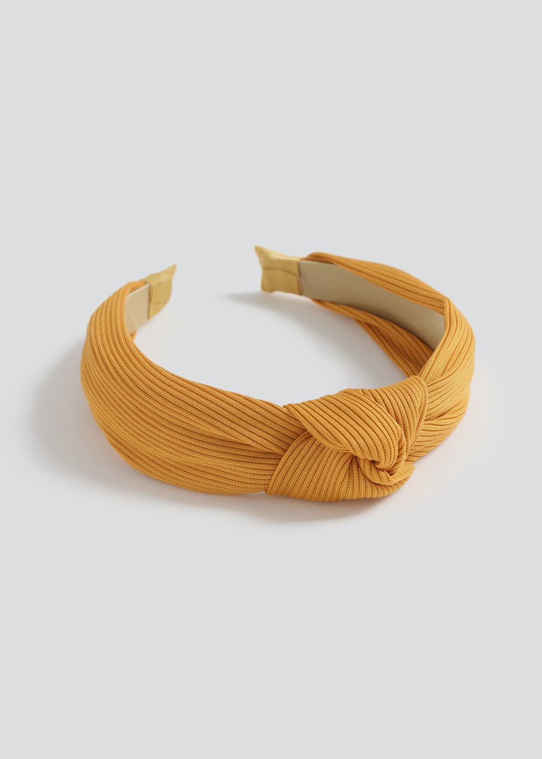 Girls Mustard Knot Headband