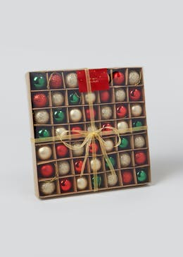 49 Pack Mini Christmas Baubles