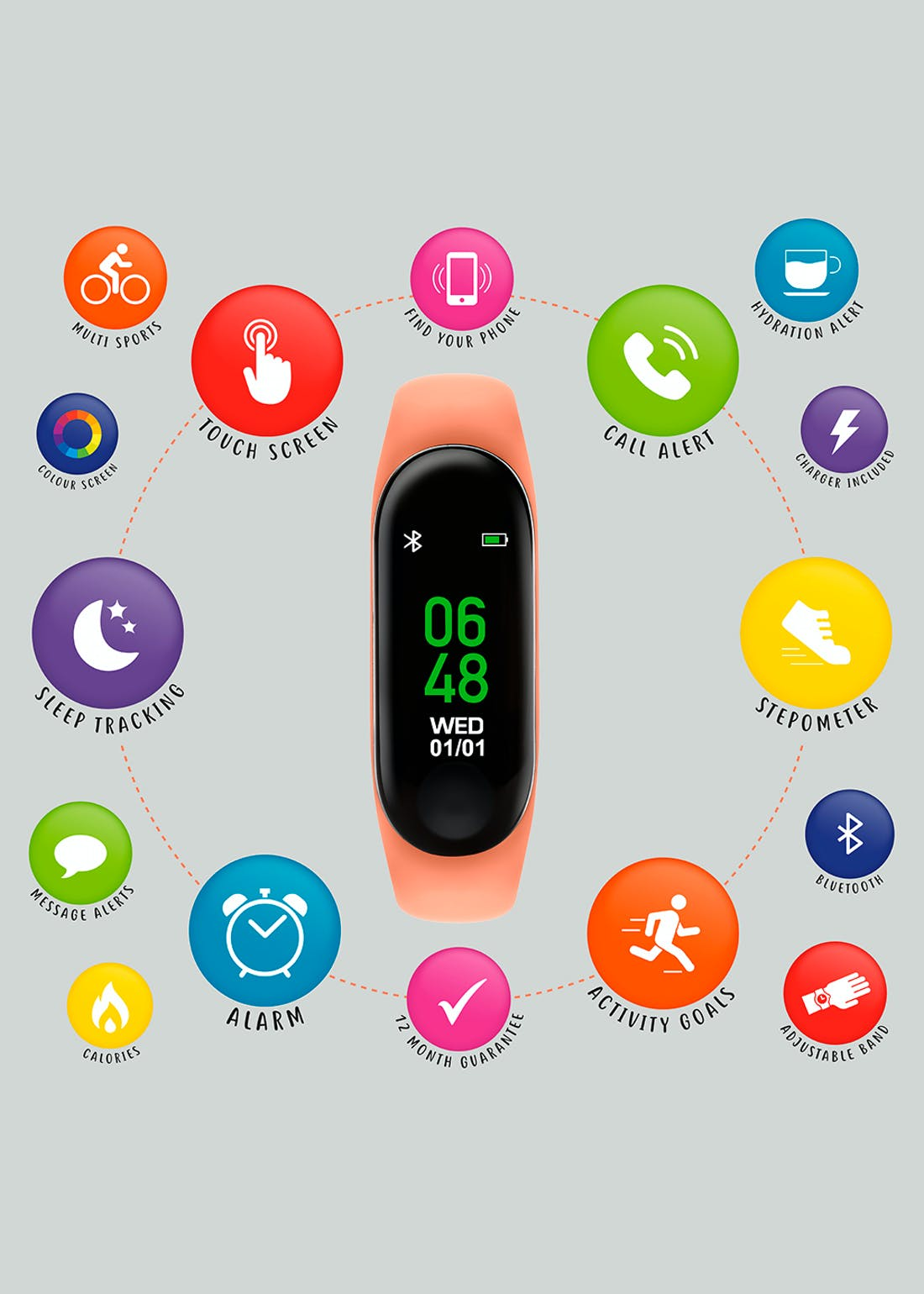 Kids Tikkers Activity Watch (One Size)