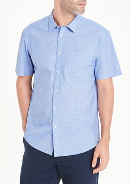 Lincoln Short Sleeve Geo Print Shirt