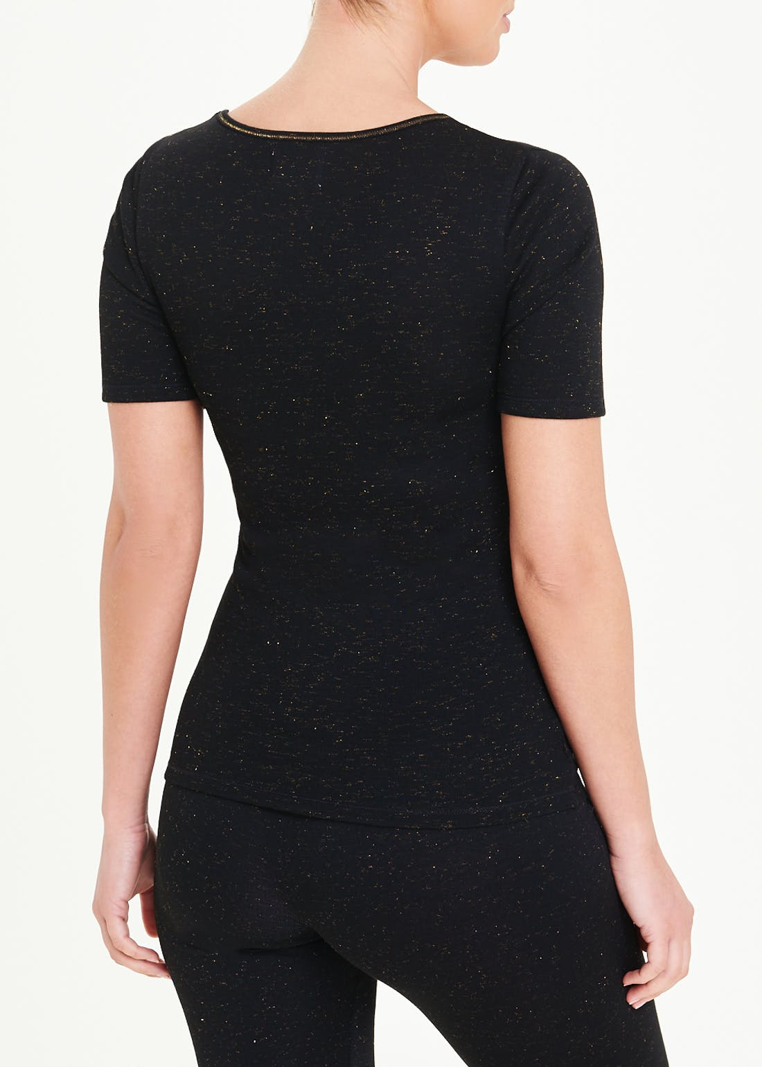 Sparkle Short Sleeve Thermal Top