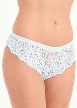 3 Pack Lace Brazilian Knickers