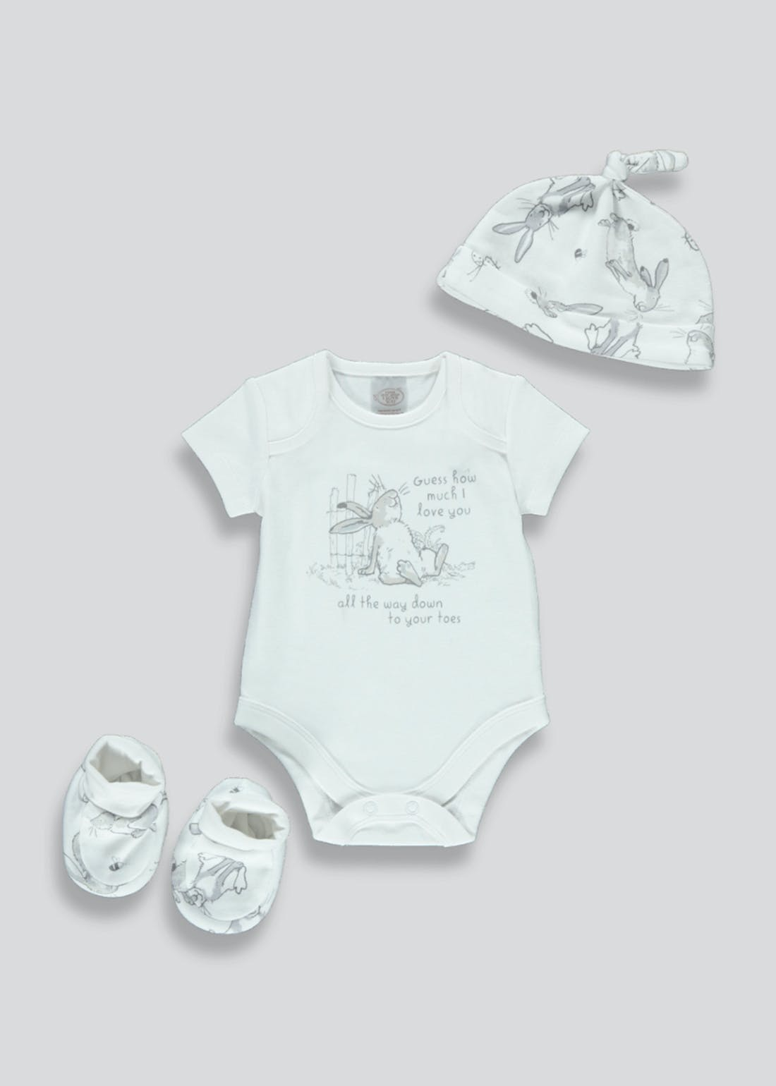 Unisex Guess How Much I Love You Gift Set (Newborn-3mths)