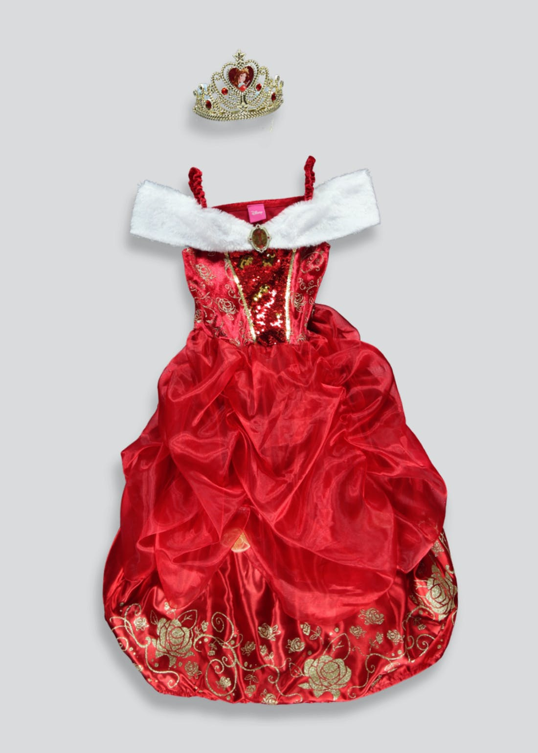 Kids Disney Belle Fancy Dress Costume (3-9yrs)