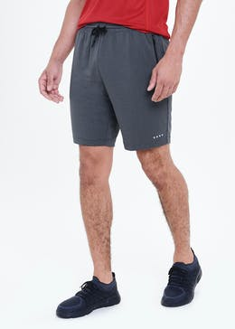 Souluxe Grey Jersey Gym Shorts