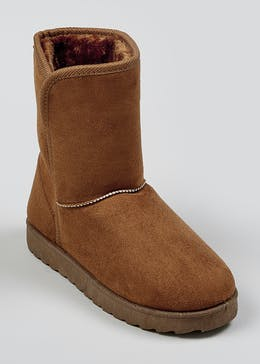 Brown Snugg Boots