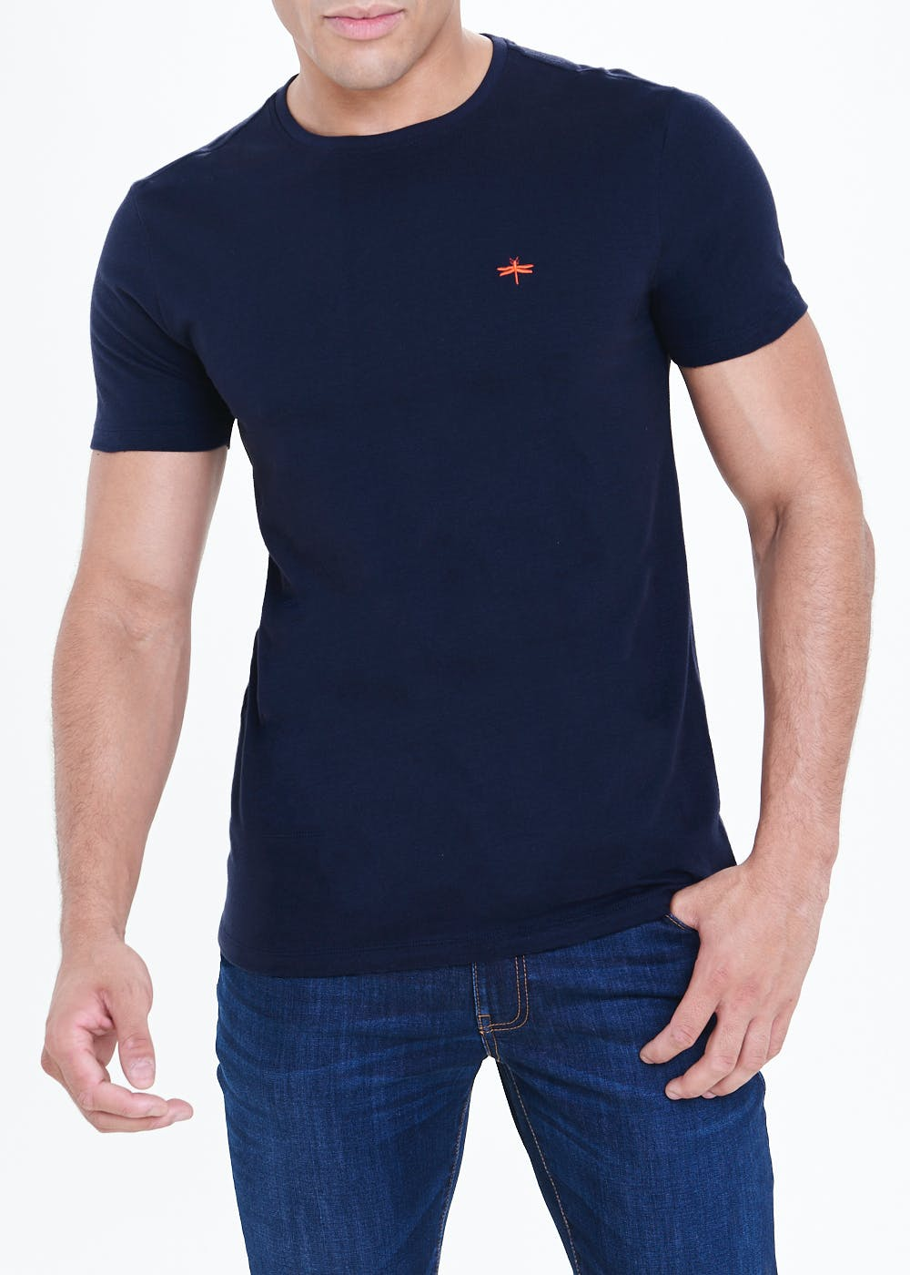 Slim Fit Soft Touch T-Shirt – Navy