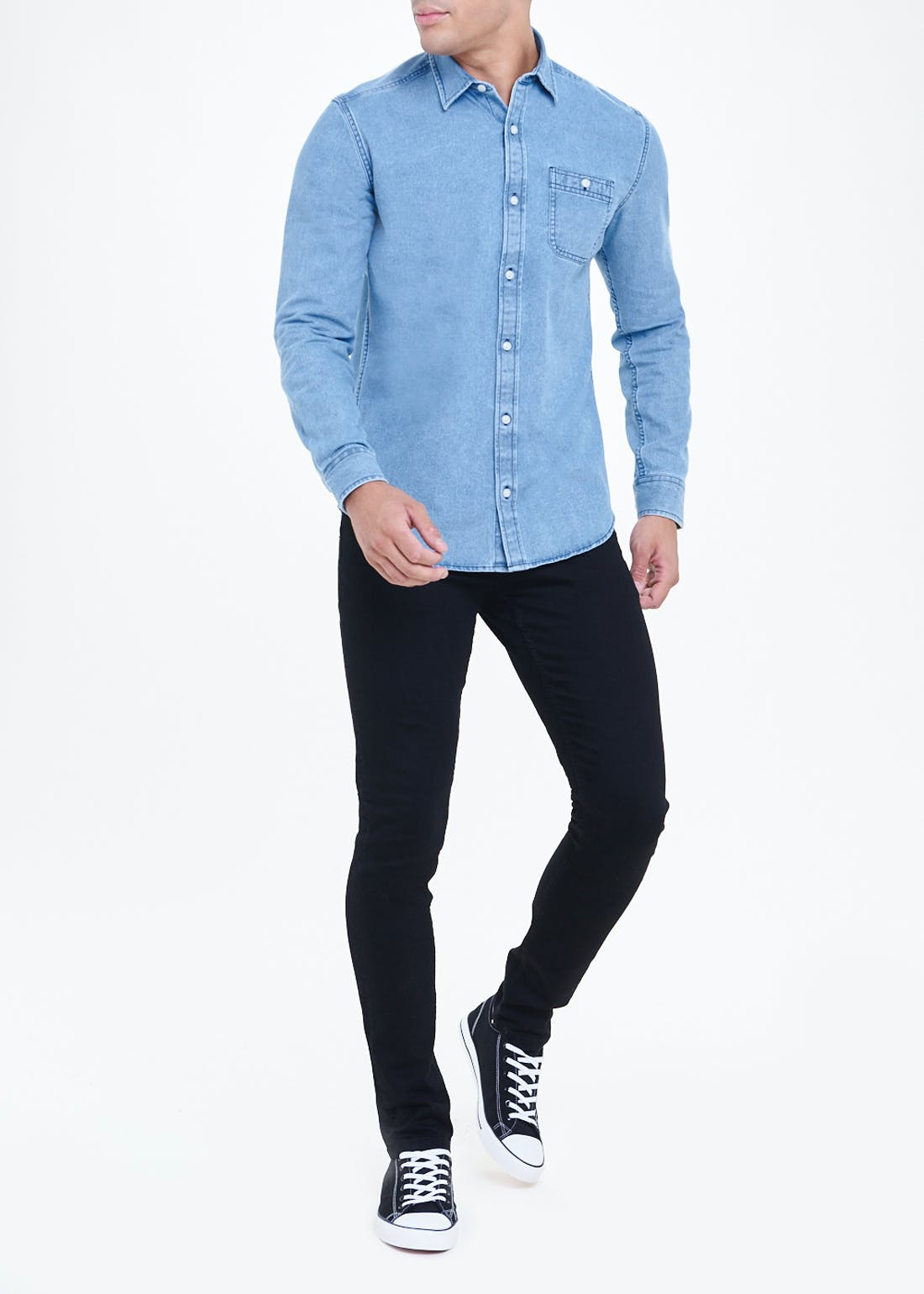 Regular Fit Denim Shirt