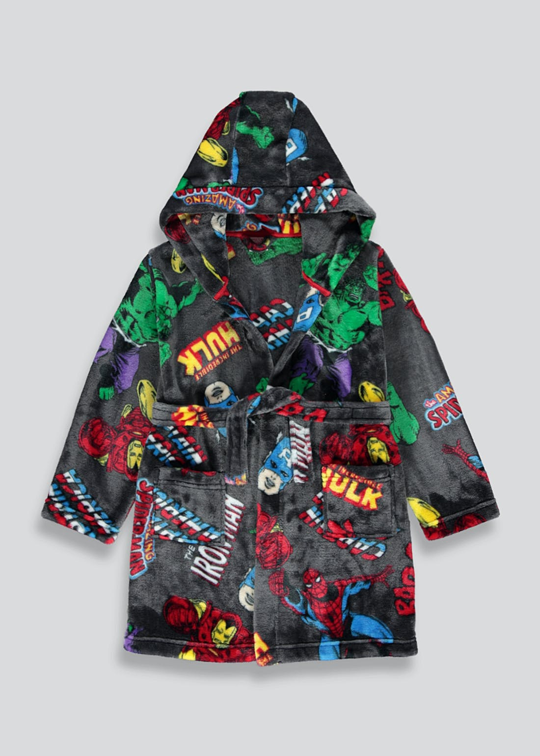 Kids Marvel Fleece Robe (2-9yrs)