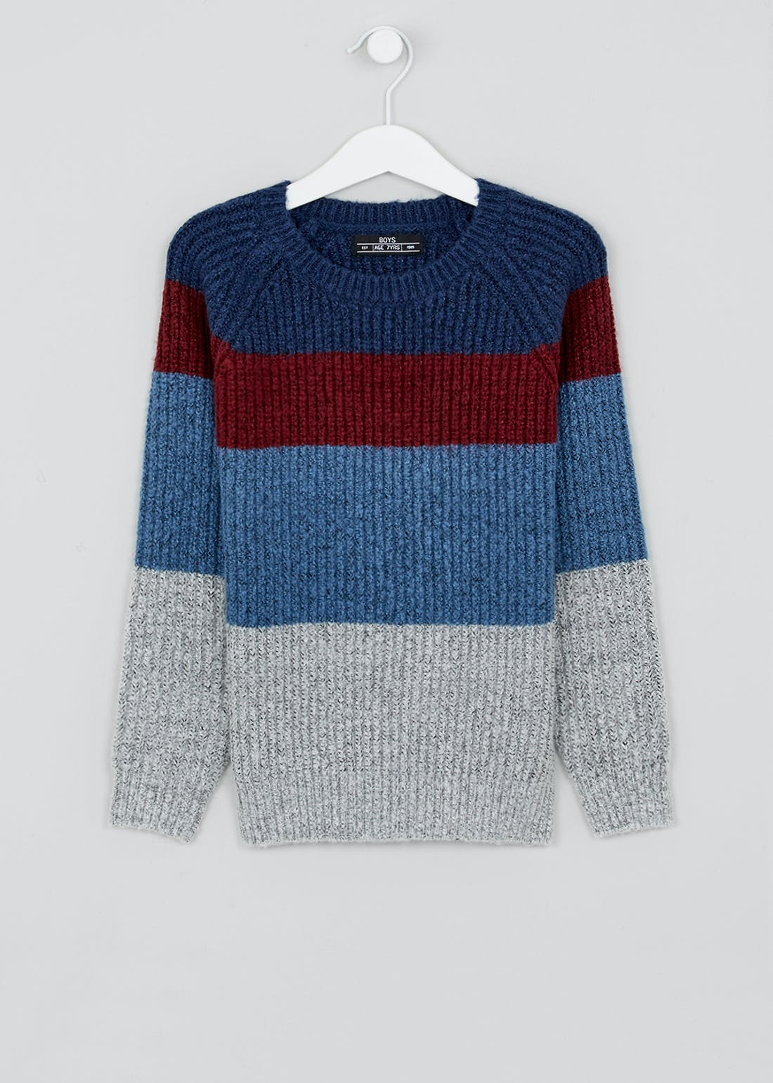 Boys Soft Touch Knitted Jumper (4-13yrs)
