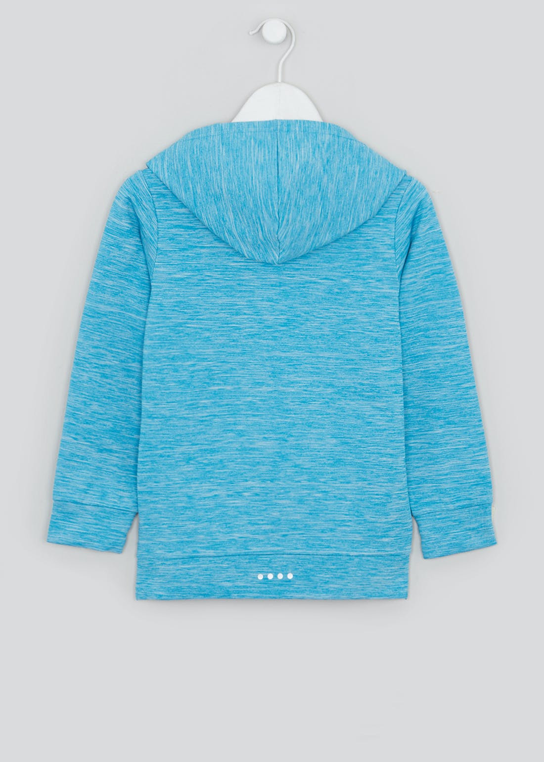 Girls Souluxe Blue Dream Believe Achieve Hoodie (4-13yrs)