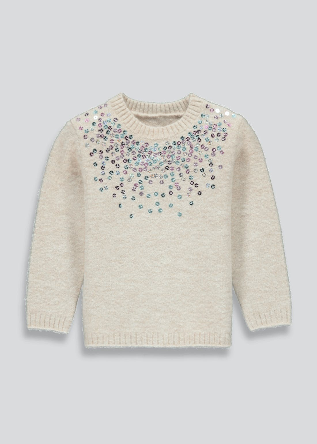 Girls Sequin Jumper (9mths-6yrs)