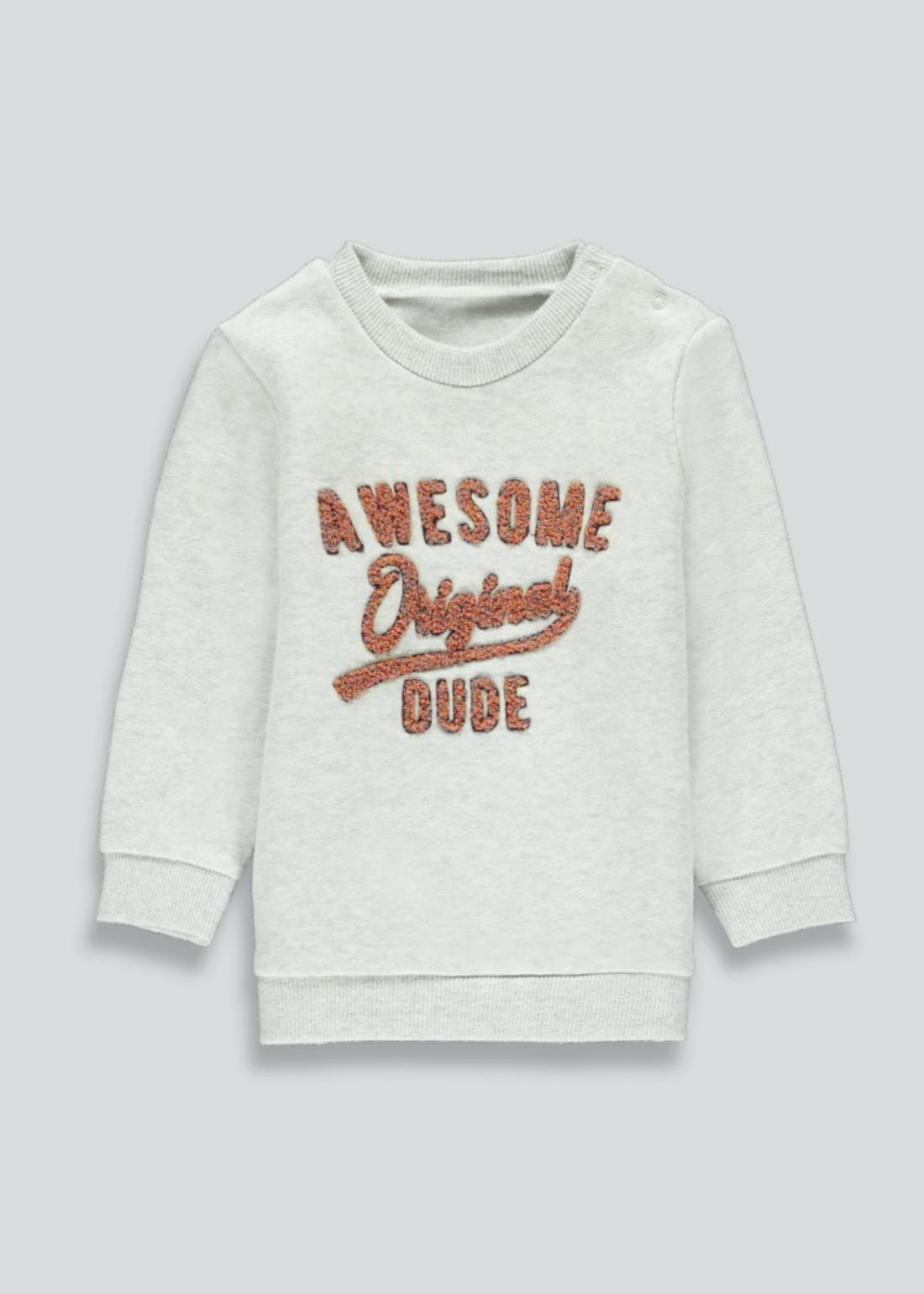 Boys Awesome Dude Long Sleeve T-Shirt (9mths-6yrs)