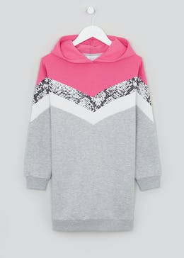 Girls Candy Couture Hooded Sweater Dress (9-16yrs)