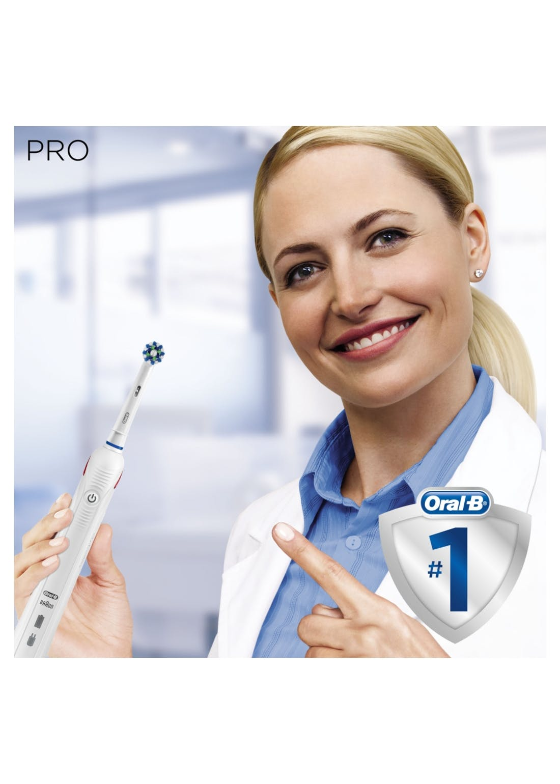 Oral-B Pro 2 2000 Cross Action Electric Toothbrush