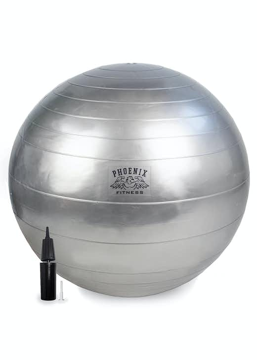 Phoenix Fitness Anti Burst Fitness Ball with Pump