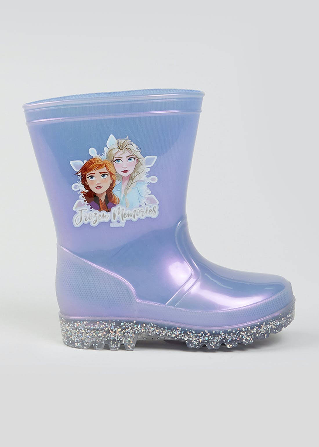 Kids Disney Frozen PVC Wellies (Younger 6-12)